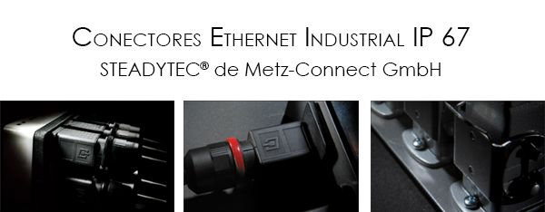 Conectores Ethernet Industrial IP 67