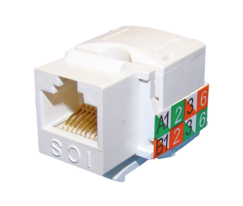 Conector Cat 6 Hembra Utp Rj45