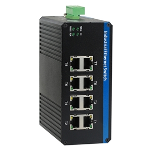 Switch Industrial 8 Port 10/100/1000 Mbps basic