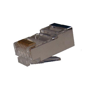 Conector Cat. 5e Macho FTP RJ49 para Cable Flexible